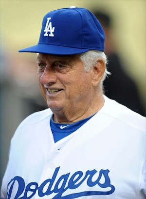 Tommy Lasorda-Kirby Lee/Image of Sport-USA TODAY Sports