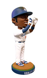 "The first bobblehead of the season will be a ""I See You"" Hanley Ramirez bobblehead. Image: L.A. Dodgers"