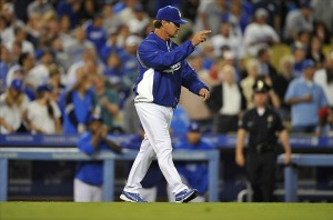 Don Mattingly will be back with the Dodgers in 2014. Photo-Gary A. Vasquez-USA TODAY Sports