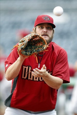 Wade Miley will do his best to spoil the Dodgers celebration. Photo: Charles LeClaire-USA TODAY Sports