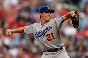Zack Greinke goes for his 7th win in a row. Photo: Howard Smith-USA TODAY Sports