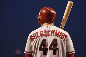 Paul Goldschmidt has been torturing the Dodgers all season. Photo: Charles LeClaire-USA TODAY Sports