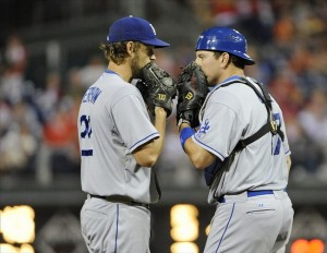 Kershaw & A.J.=the new Orel and Scioscia? Photo: Eric Hartline-USA TODAY Sports