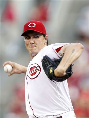 Homer Bailey no-hit the Giants earlier in the season. Photo: Frank Victores-USA TODAY Sports