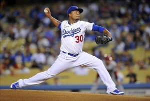 Edinson Volquez's ERA dipped below 6 to 5.99. Progress. Photo: Gary A. Vasquez-USA TODAY Sports
