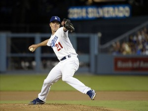 Zack Greinke wasn't the sharpest on Thursday night and neither wins or loses. Photo: Richard Mackson-USA TODAY Sports