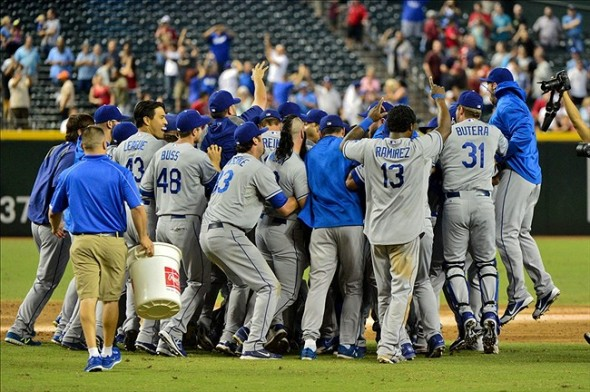 Dodgers win the West!-Matt Kartozian-USA TODAY Sports