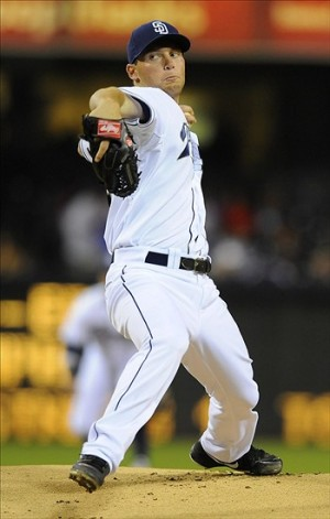 Robbie Erlin shuts out the Dodgers. Photo: Christopher Hanewinckel-USA TODAY Sports