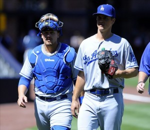 Zack Greinke pitched 6 scoreless innings but isn't involved in the decision. Photo: Christopher Hanewinckel-USA TODAY Sports