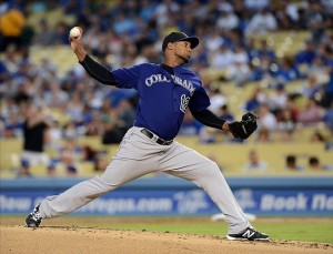The Dodgers could not hit Nicasio. Photo: Jayne Kamin-Oncea-USA TODAY Sports