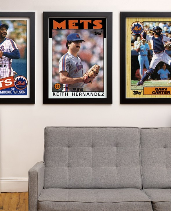 Topps Wall size Baseball Card Print