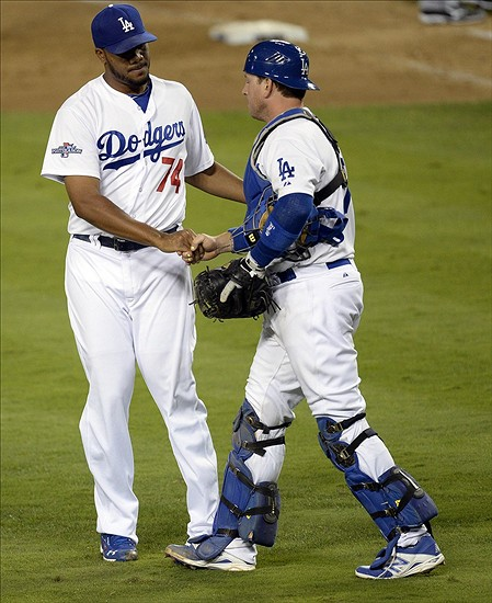 Dodgers win!-Richard Mackson-USA TODAY Sports