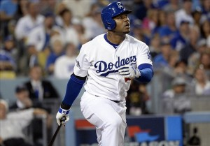 Carl Crawford amazes with two solo homeruns. Photo: Richard Mackson-USA TODAY Sports