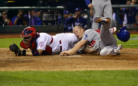 M.Ellis is the worst baserunner on the planet-Scott Rovak-USA TODAY Sports