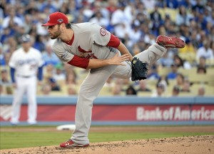 Lance Lynn gets the win in Game 4. Photo: Richard Mackson-USA TODAY Sports