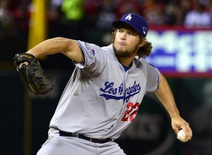 The 2013 season began with a Clayton Kershaw homerun and it ends on a Clayton Kershaw loss. Photo: Scott Rovak-USA TODAY Sports