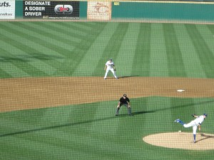 Corey Seager at shortstop for the Rancho Cucamonga Quakes in 2013. Photo: Stacie Wheeler