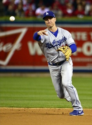Mark Ellis has solidified the Dodgers middle infield over the past two seasons. Photo: Scott Rovak-USA TODAY Sports