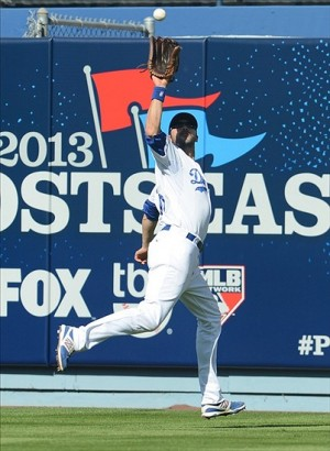 The Dodgers lack depth for center field. Photot: Jayne Kamin-Oncea-USA TODAY Sports
