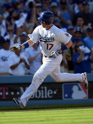 A.J. Ellis is Kershaw's buddy, but does that increase his value? Photo: Jayne Kamin-Oncea-USA TODAY Sports