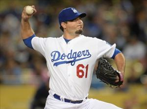 The Dodgers have a plan in place should Josh Beckett not be able to bounce back after nerve issues. Photo: Jayne Kamin-Oncea-USA TODAY Sports