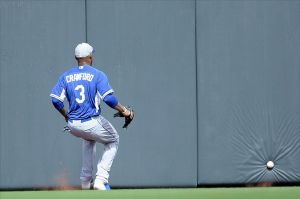 Carl Crawford won't be able to play 162 games this season. Photo: Joe Camporeale-USA TODAY Sports