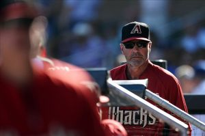 Kirk Gibson and his Snakes look to embarrass the Dodgers in Sydney. Photo: Joe Camporeale-USA TODAY Sports
