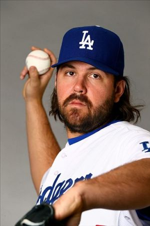 Chris Perez could provide a great seventh inning option for the Dodgers. Photo: Mark J. Rebilas-USA TODAY Sports