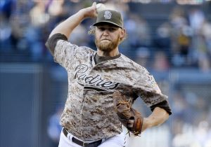Andrew Cashner pitched well, but he was not involved in the decision. Photo: Christopher Hanewinckel-USA TODAY Sports