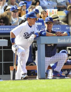 The Dodgers will lose A.J. to knee surgery. Photo: Gary A. Vasquez-USA TODAY Sports