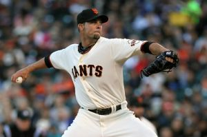 Damn you Vogelsong! Photo: Lance Iversen-USA TODAY Sports