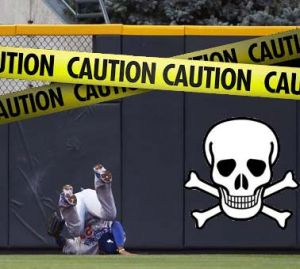 Stay away from the Coors Field walls, Matt!