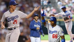 Yasiel Puig, Clayton Kershaw, Zack Greinke and Dee Gordon will represent the Dodgers in the 2014 All-Star Game.