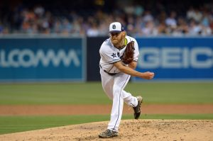 Andrew Cashner is trying to bounce back after missing two months with shoulder soreness. Photo: Jake Roth-USA TODAY Sports