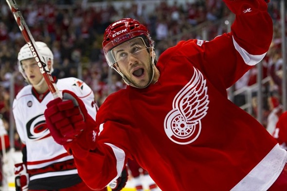 Hopefully we will see Drew Miller make this face tonight. Mandatory Credit: Rick Osentoski-USA TODAY Sports