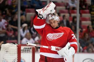 Detroit Red Wings Goaltender Petr Mrazek