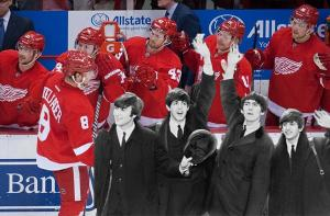 The Red Wings vs The Beatles