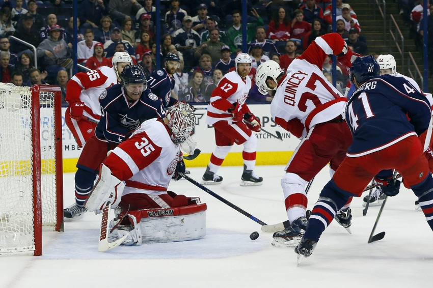 Detroit Red Wings drop to Columbus Blue Jackets