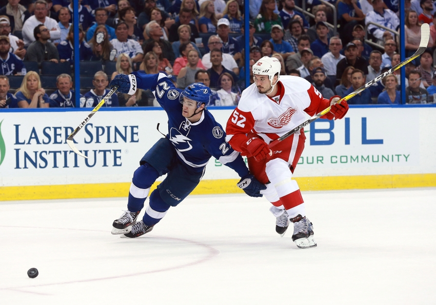 Detroit Red Wings Vs Tampa Bay Lightning Game 1 Recap