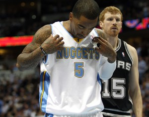 Good and bad, JR is the Nuggets most dangerous weapon.