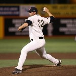 Jake Barrett threw 1 2/3 scoreless innings to lift Mobile to a Game 3 win in their Southern League semifinals. Credit: Kelley L Cox-USA TODAY Sports