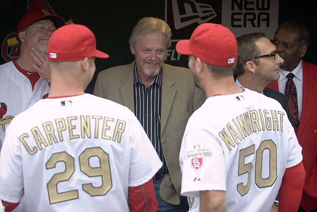 Dave Duncan would only come to the D'backs as an adviser. Credit: Jeff Curry-USA TODAY Sports