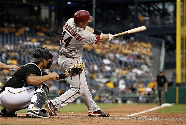 Paul Goldschmidt heads a strong class of NL West first basemen. Credit: Charles LeClaire-USA TODAY Sports