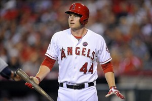 Mark Trumbo will be swinging for the fences at Chase Field. Credit: Gary A. Vasquez-USA TODAY Sports