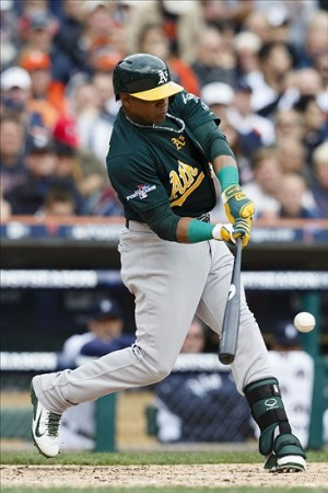 Oakland will shop Cespedes, but not without a big price tag Image: Rick Osentoski-USA TODAY Sports
