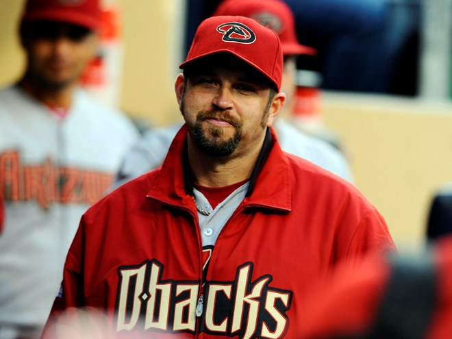 Heath Bell spent one season in Arizona. Credit: Christopher Hanewinckel.