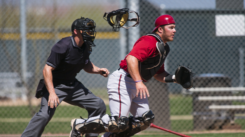 Stryker Trahan is the top-ranked D'backs' catching prospect. Credit: azcentral.com