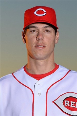 Feb 16, 2013; Goodyear, AZ, USA; Cincinnati Reds relief pitcher Josh Ravin (76) during photo day at the Reds Spring Training Facility. Mandatory Credit: Jake Roth-USA TODAY Sports