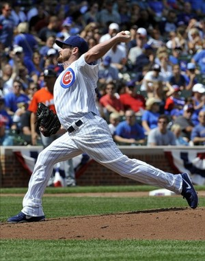 Travis Wood has pitched extremely well for the Cubs this season. Mandatory Credit: David Banks-USA TODAY Sports