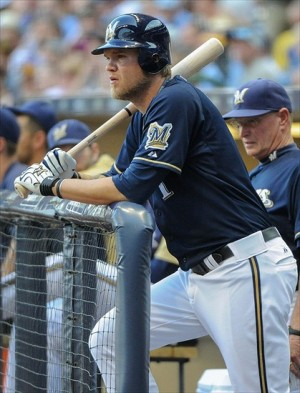 How will Corey Hart's bat affect the line-up, should he return to the Brewers? Mandatory Credit: Benny Sieu-USA TODAY Sports